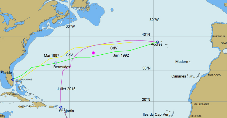 carte meteo atlantique nord